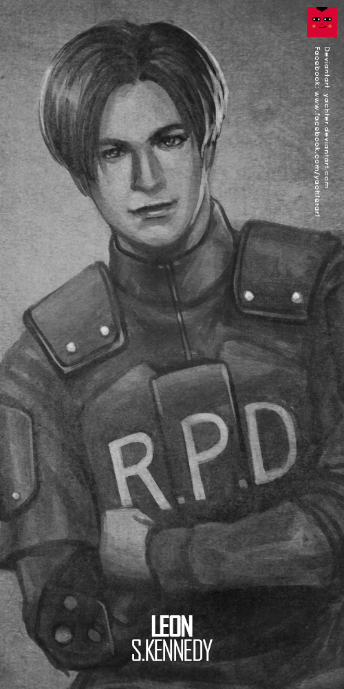 Resident Evil 2 : Leon S. Kennedy by yachter