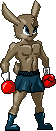 Fighting Sprites Caper standing by Connan-Bell