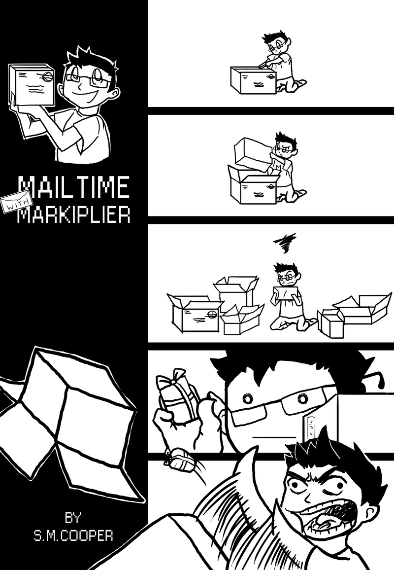Markiplier's Matryoshka Mail Madness by SallyVinter