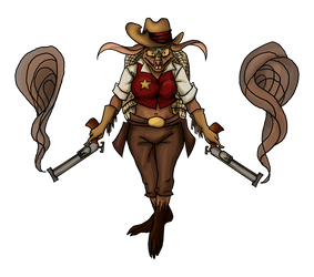 Sheriff Toothpick by SallyVinter