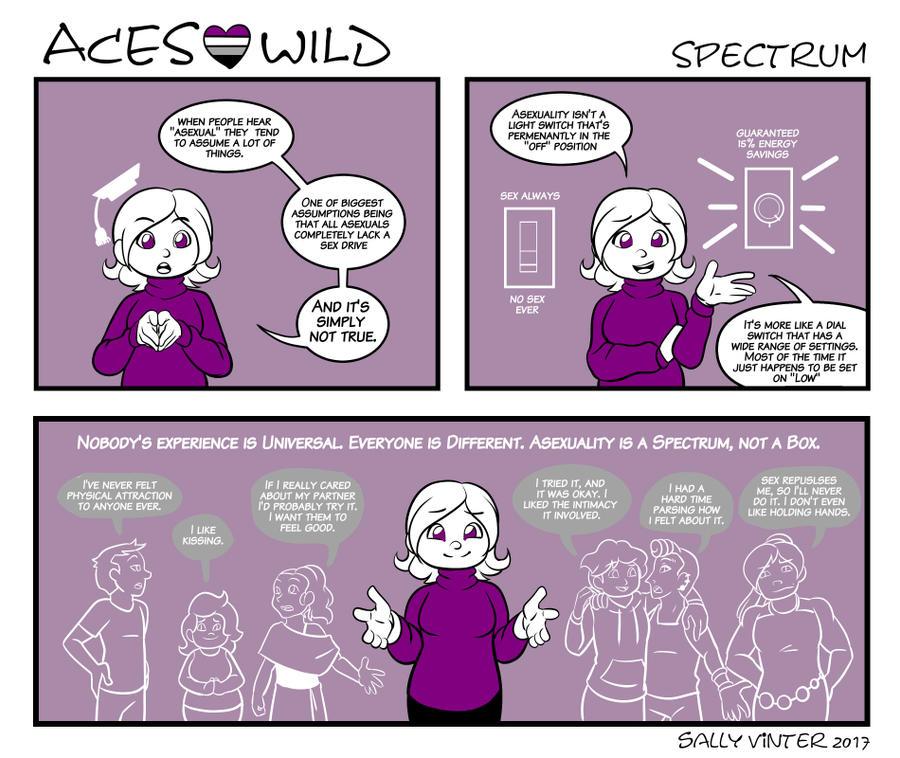 Asexual spectrum list
