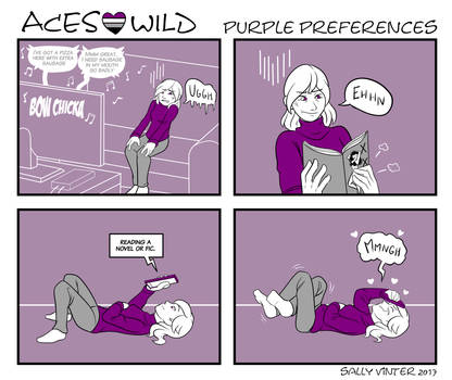 Aces Wild - 06 - Purple Preferences by SallyVinter