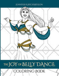 Belly Dance Coloring Book