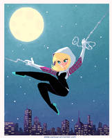 Spider Gwen by tissa