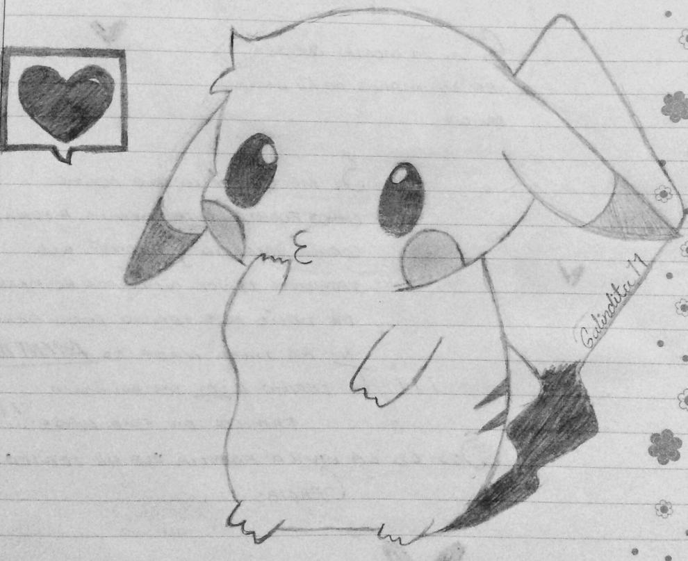 Pikachu by Galindita11