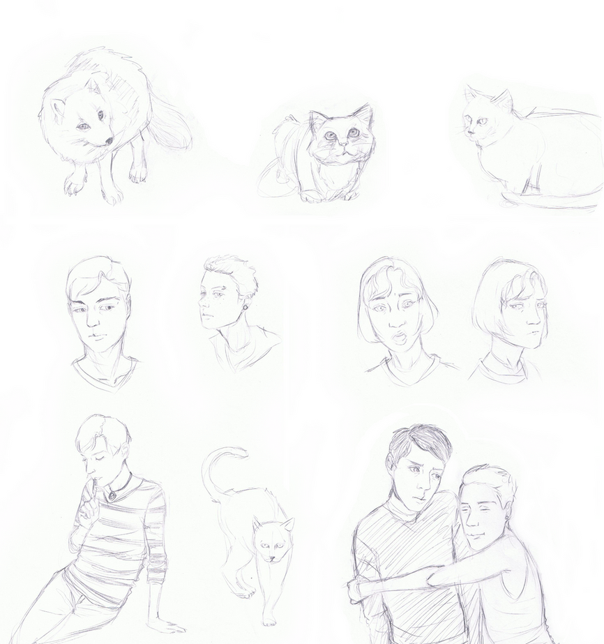 Sketch Dump2 by Shellston