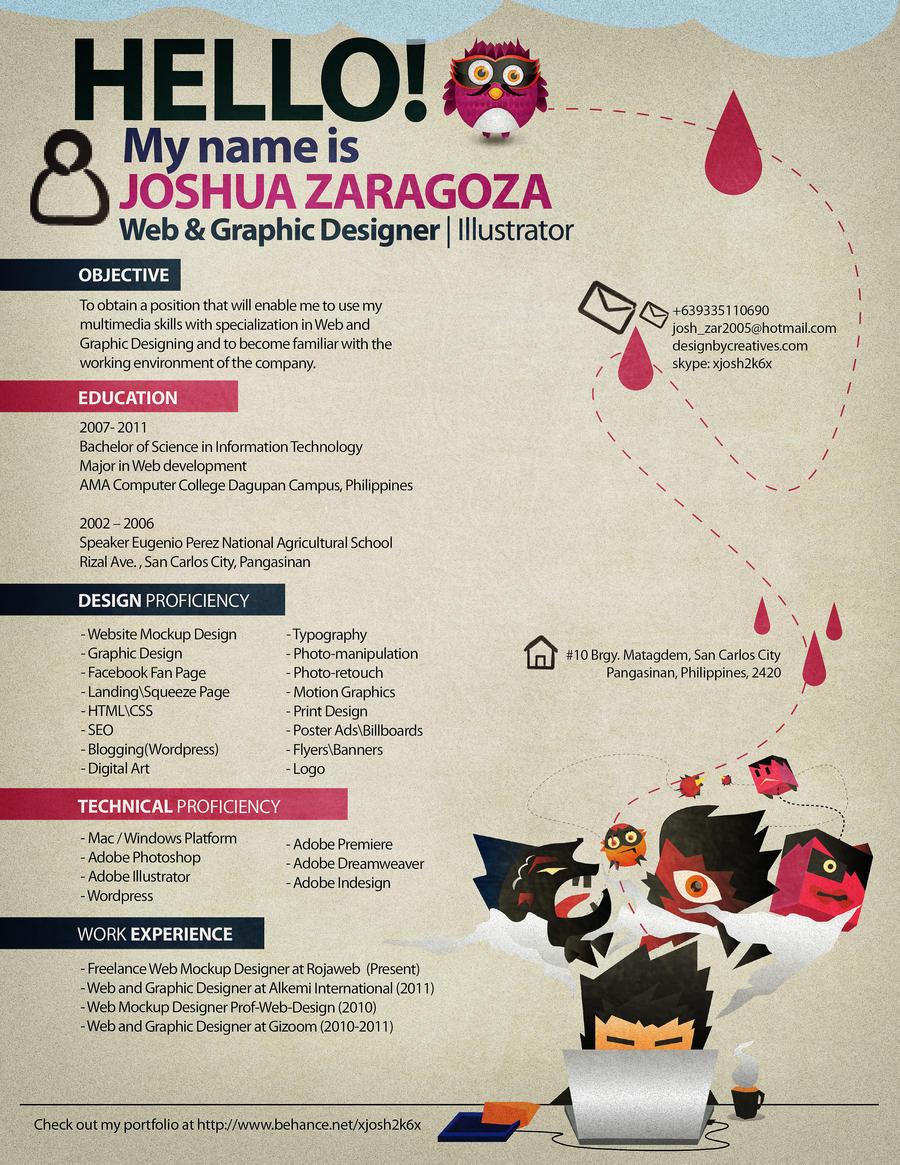 Resume 2012 by xjosh2k6x