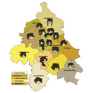 Municaps of Belgrade