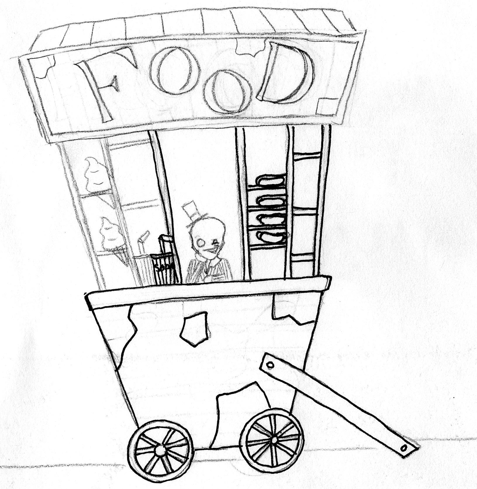 Food Stall By ArtMacrocosm On DeviantArt