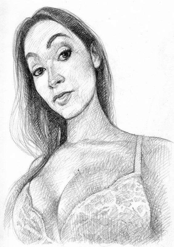 Weekly sketch: Jessica Fappit by popeyewong