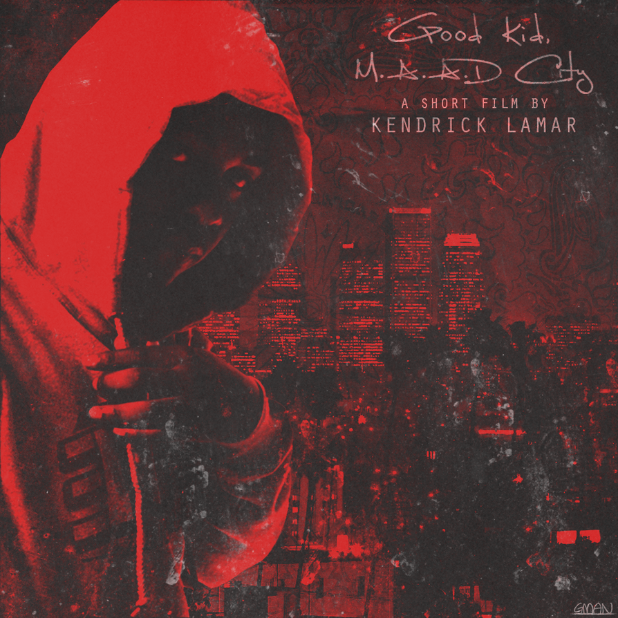 Kendrick Lamar - Good Kid, M.A.A.D City (Red) by Gman918 ...
