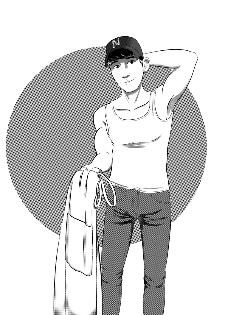 Tadashi sketch by Ofidian