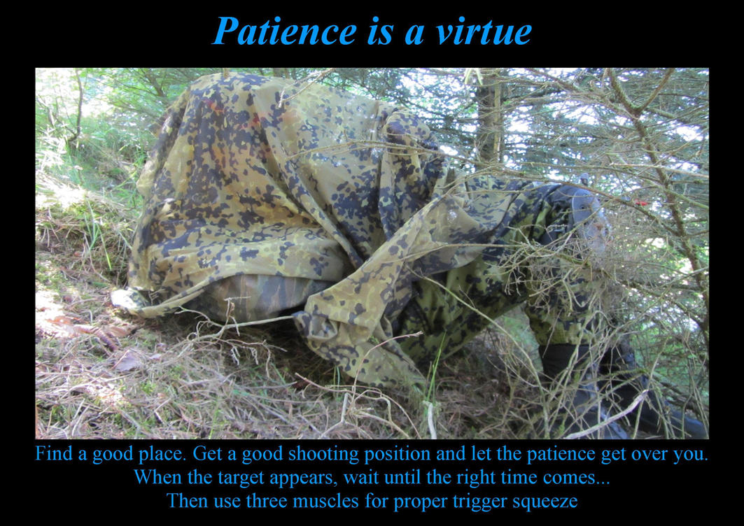 Patience is a virtue by Liam2010