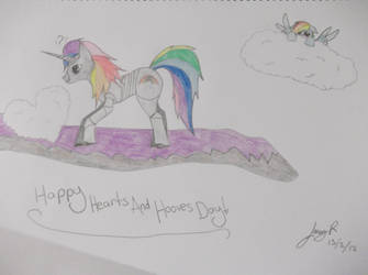 A very special somepony... by KittyTheGrimm