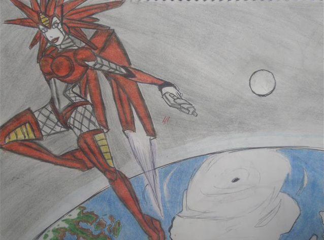 crimmson star by puticron