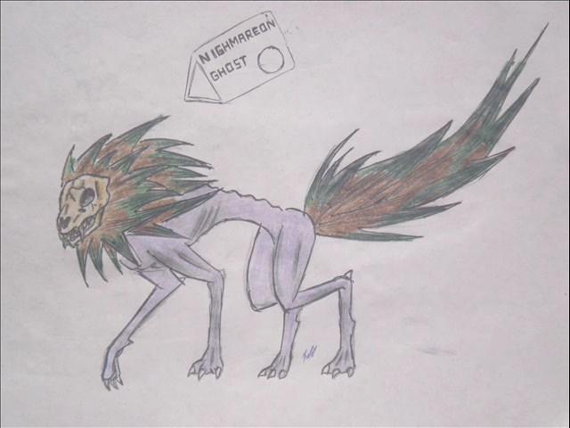 pokemon eevelutions nighmareon by puticron