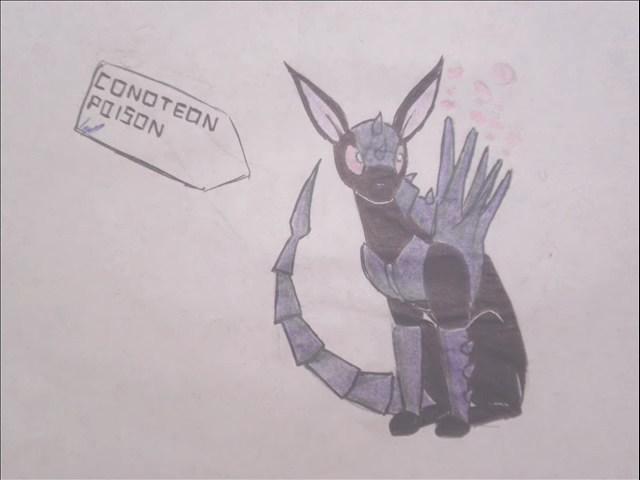 pokemon eeveelutions vconoteon by puticron