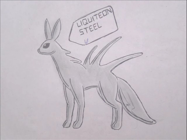 pokemon eeveelutions liquiteon by puticron