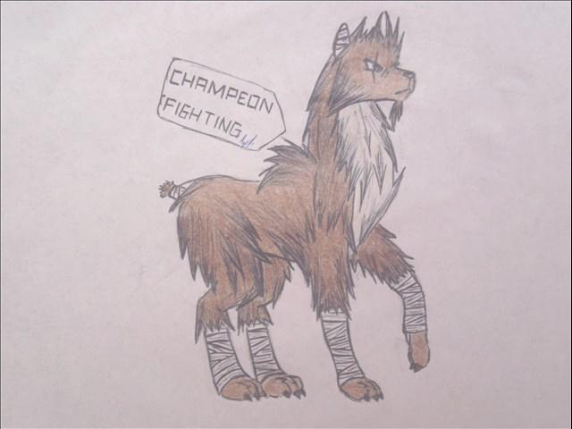 pokemon eeveelutions champeon by puticron