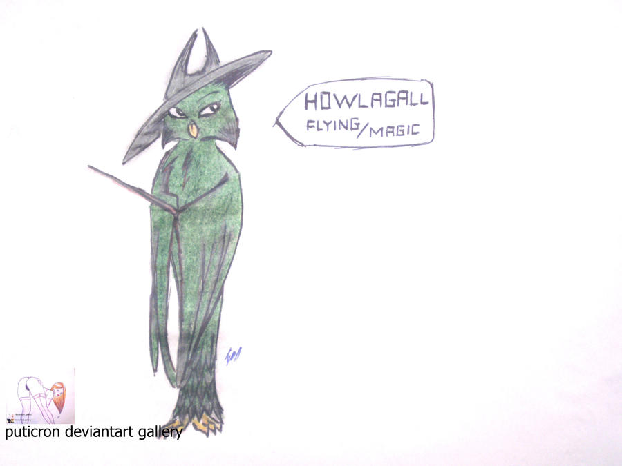 new pokemon howlagall by puticron