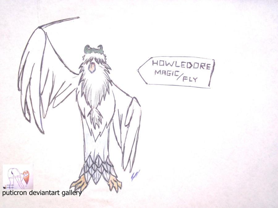 new pokemon howledore by puticron