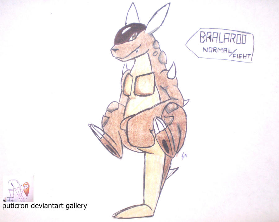 new pokemon bralaroo by puticron