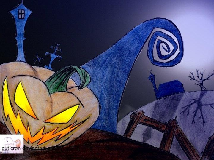 halloween night by puticron