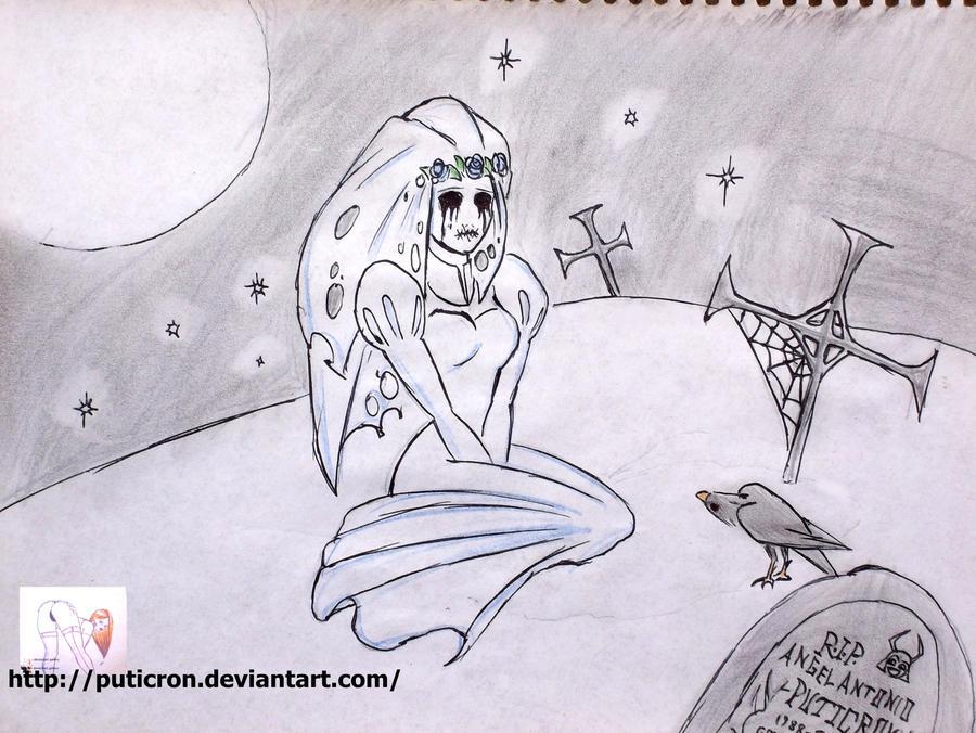 tm bloody mary ghost original by puticron