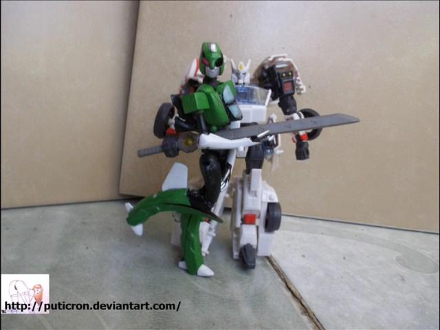 transformers couple driftxseeker nami by puticron