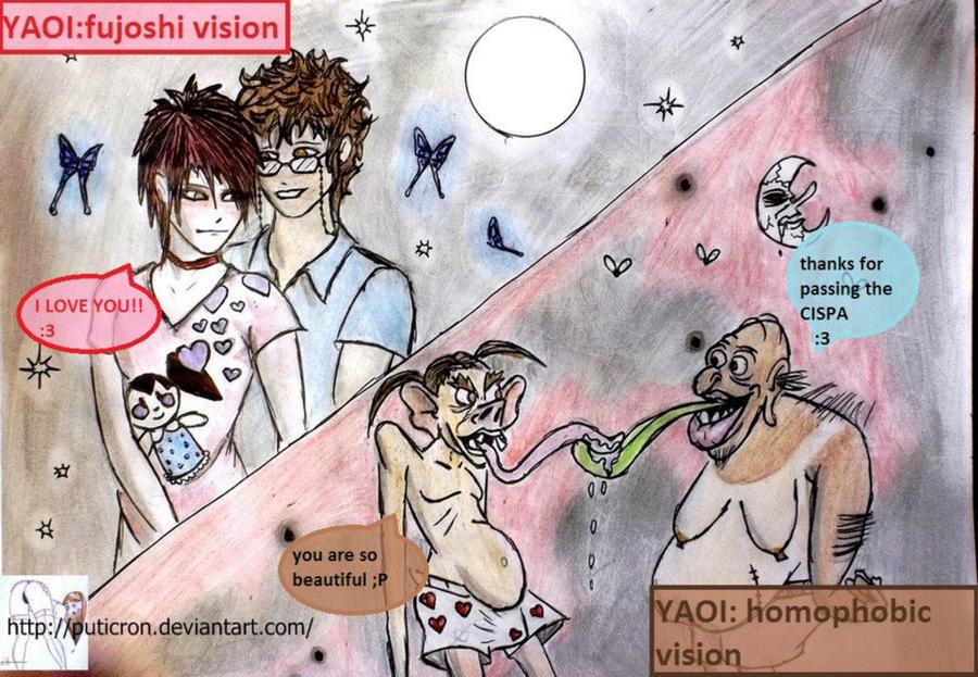 YAOI: omg!!!! by puticron