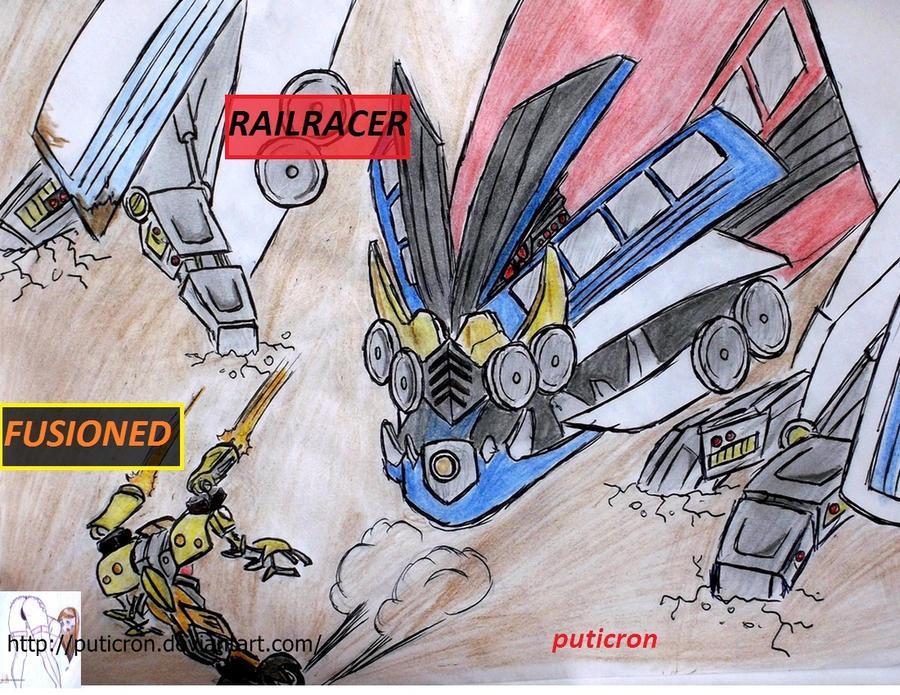 transformers: david and goliath by puticron