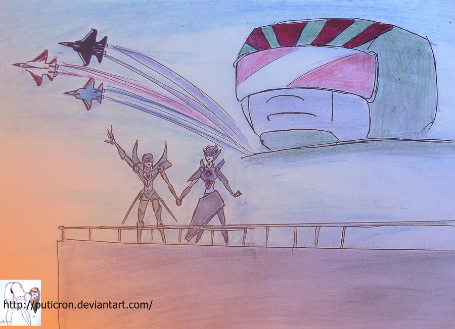 transformers: fly withme by puticron