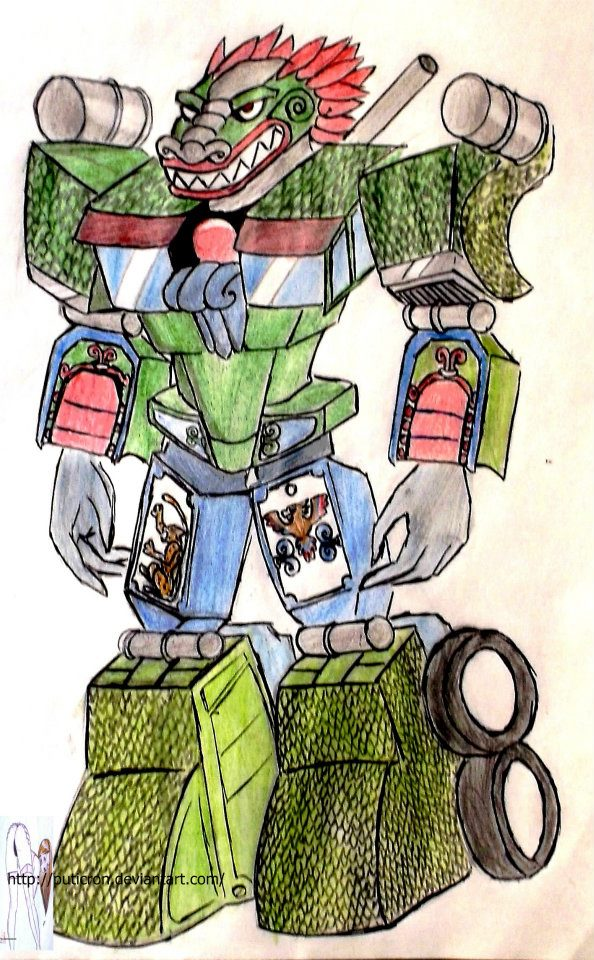 transformers: tlaloc by puticron