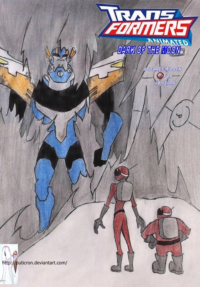 transformers animated: dark of the moon by puticron