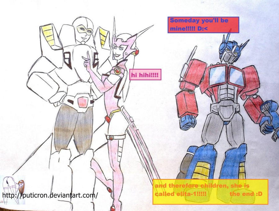 transformers: optimus rage by puticron