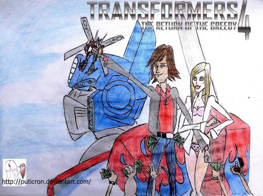 transformers fakesmovies y mas fanarts by me :D - Página 2 Transformers_4_the_return_of_the_greedy_by_puticron-d584b43