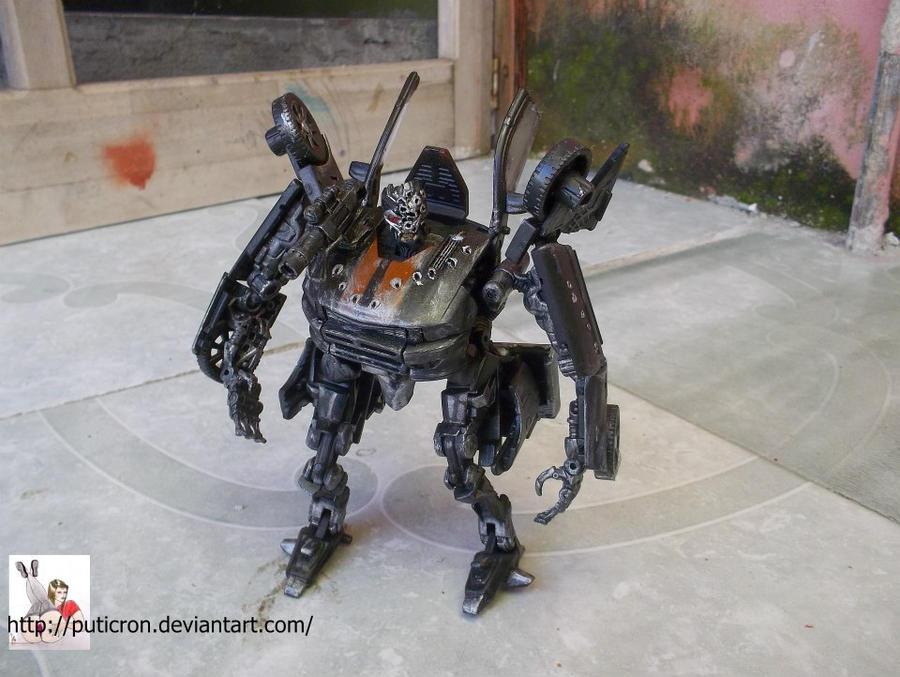 transformers customs: death race frankeinstein by puticron