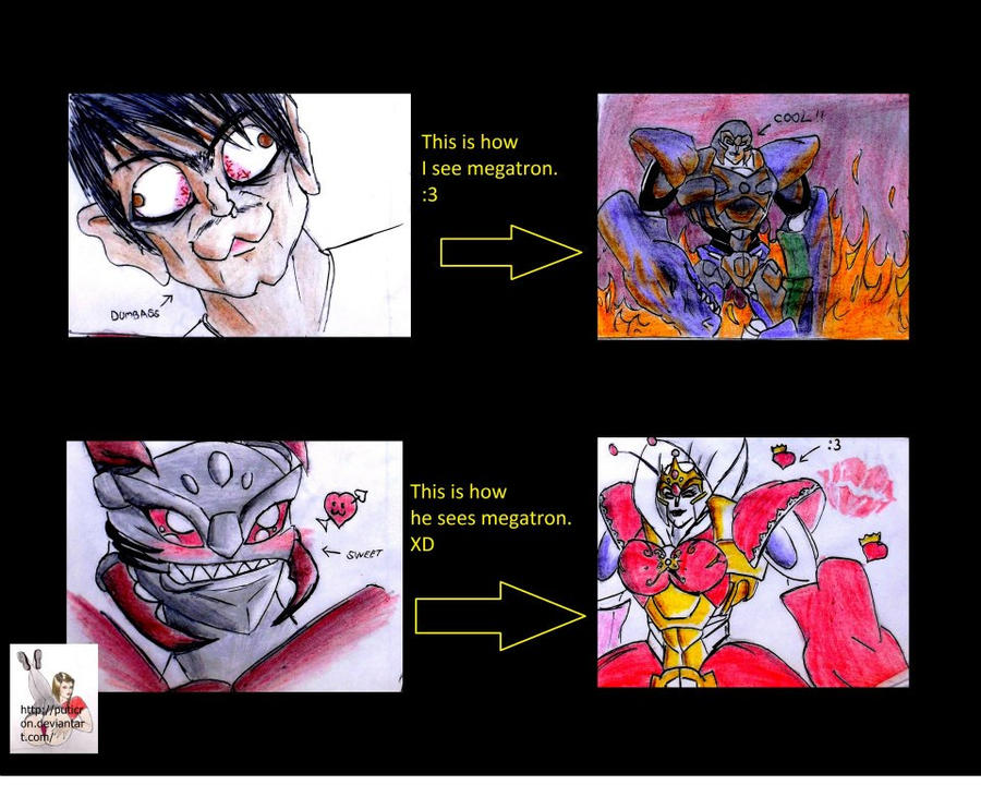 transformers fakesmovies y mas fanarts by me :D - Página 3 Transformers__megatron_queen_by_puticron-d5dhdvb