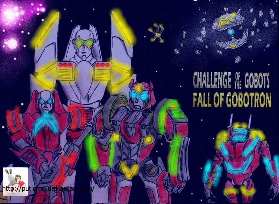 gobots: fall of gobotron (corrected version) by puticron