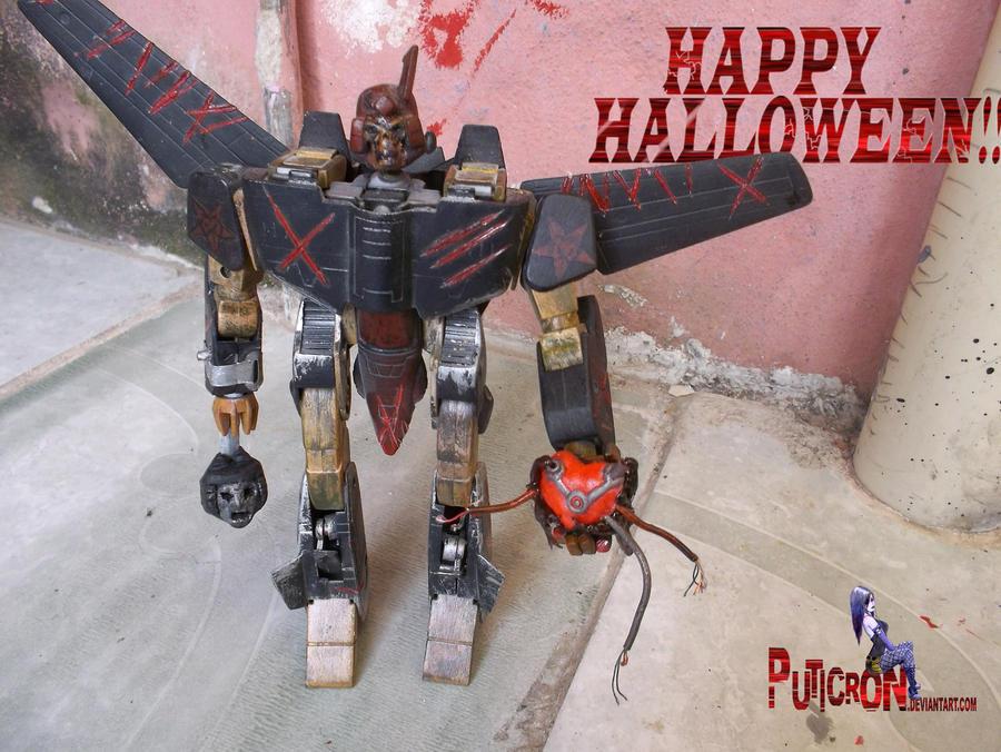 transformers happy halloween by puticron