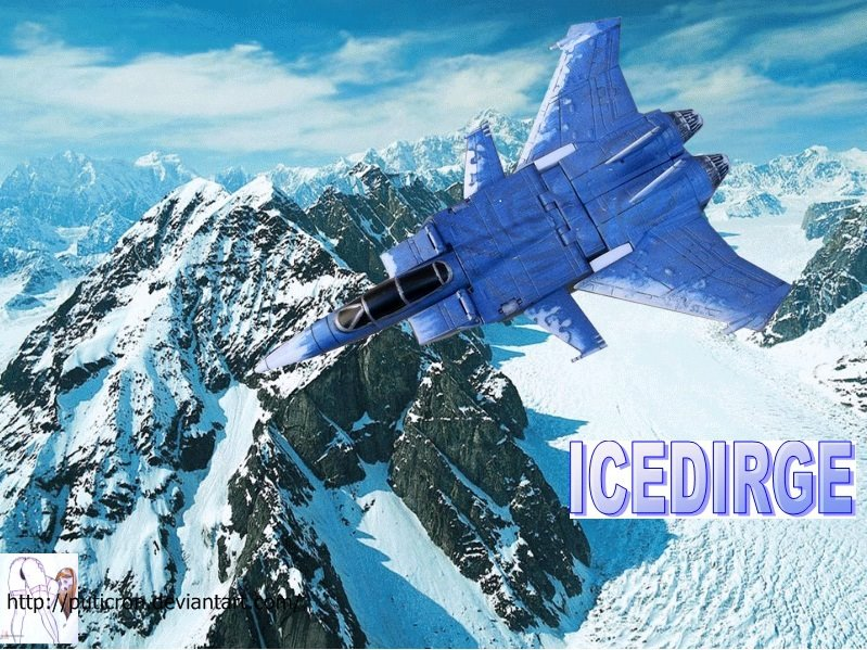 transformers customs : icedirge by puticron