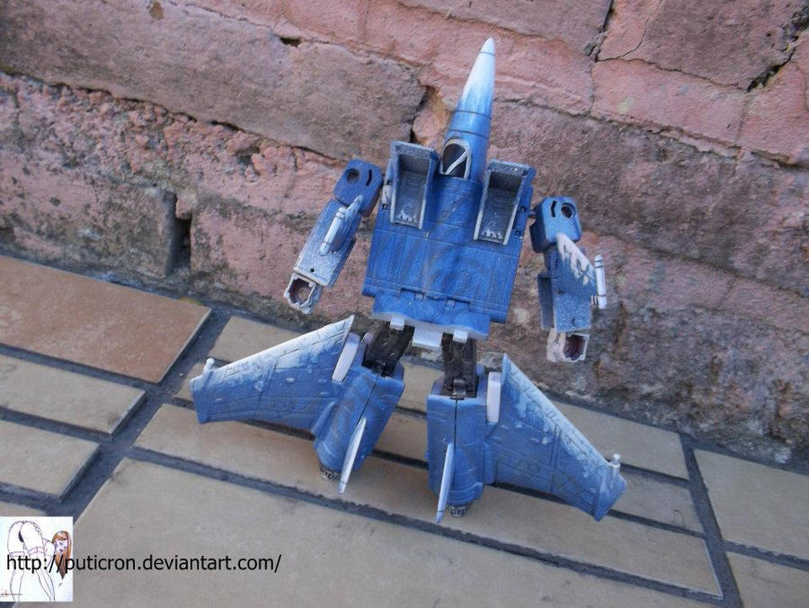transformers customs : icedirge by puticron