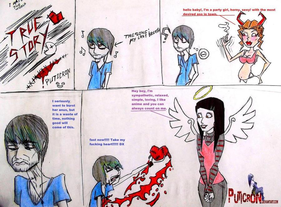 my true story by puticron