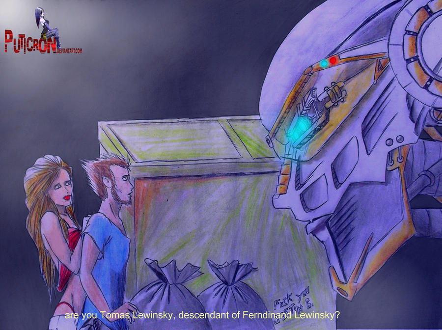 gobots: movie 2007, leader-1 meets tom and isabela by puticron
