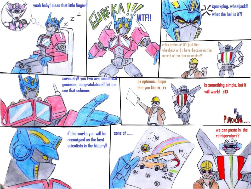 transformers: troll science by puticron