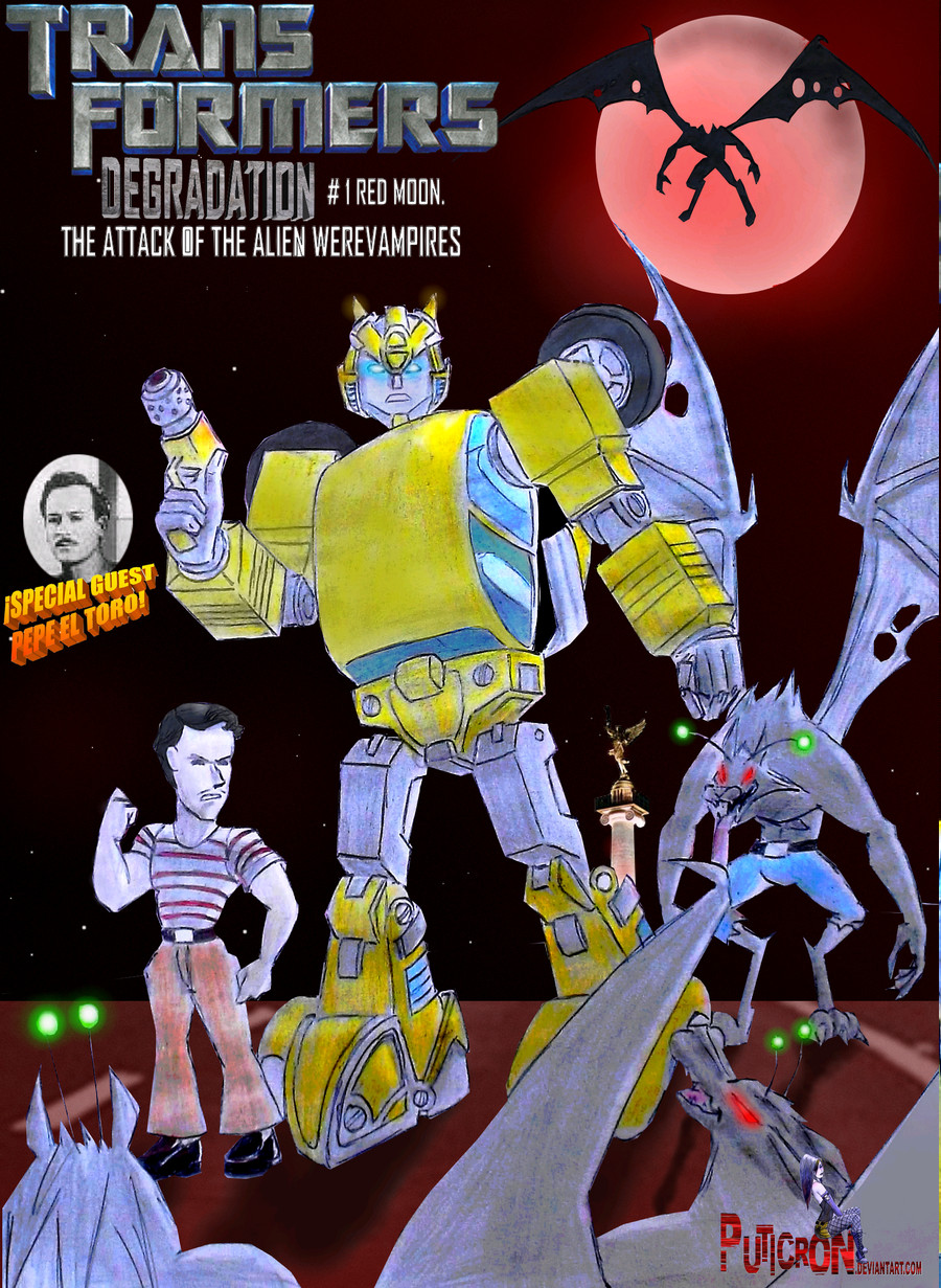 transformers degradation issue # 1 (fake) by puticron