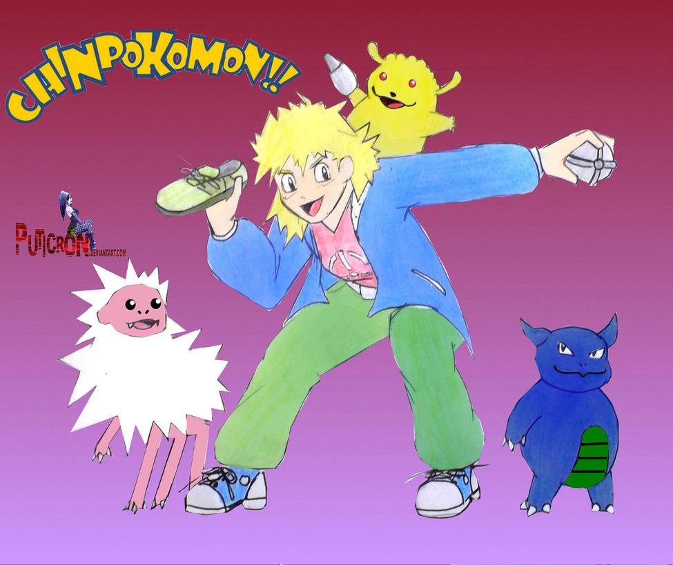 chinpokomon, gotta buy em all by puticron