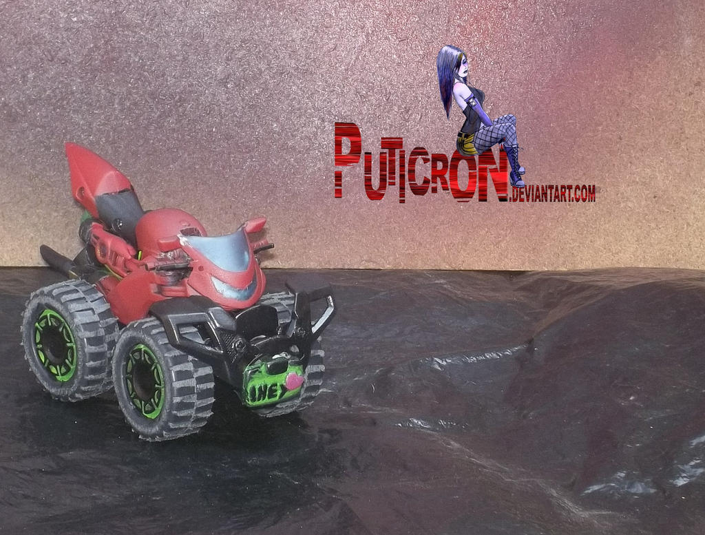 gobots: custom smallfoot by puticron