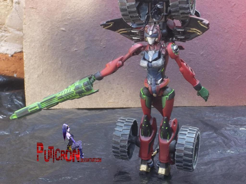 transformers : custom gobots smallfoot by puticron