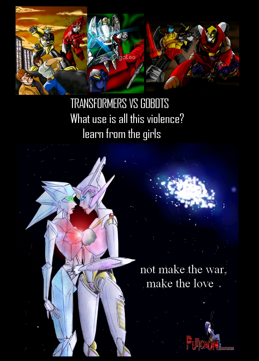 transformers vs gobots meme by puticron
